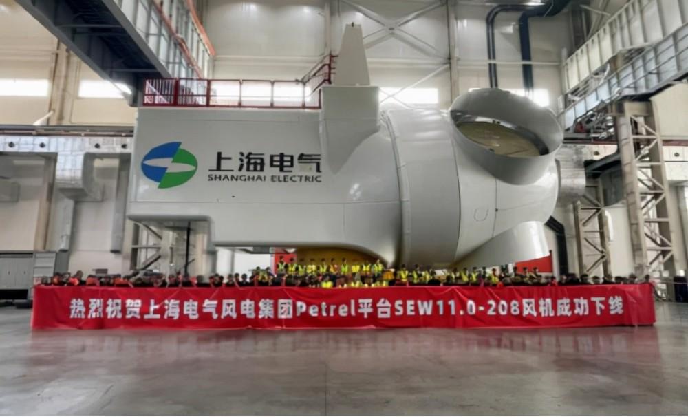 大国重器!赶超美国,中国造全球最大风电机